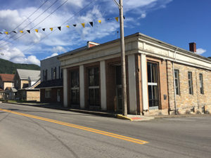 The Old People's Bank Building at 44 East Main Street, Richwood, WV